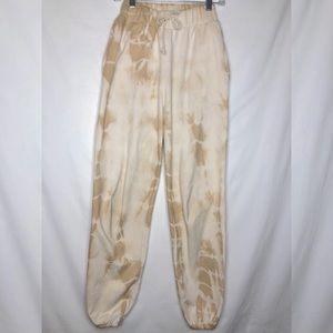 Handmade Organic cotton natural tiedyed sweatpants